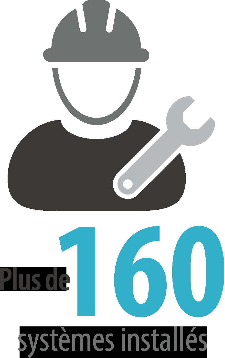 160 systèmes